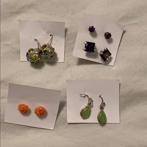 Jewelry - Collection of earrings.